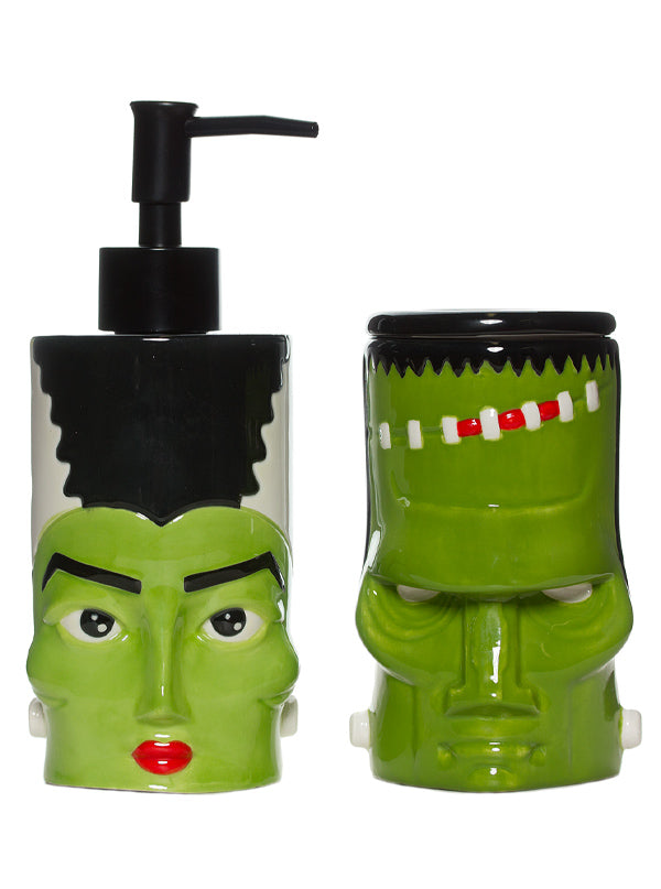 Monster & Bride Bathroom Set by Sourpuss (Green)