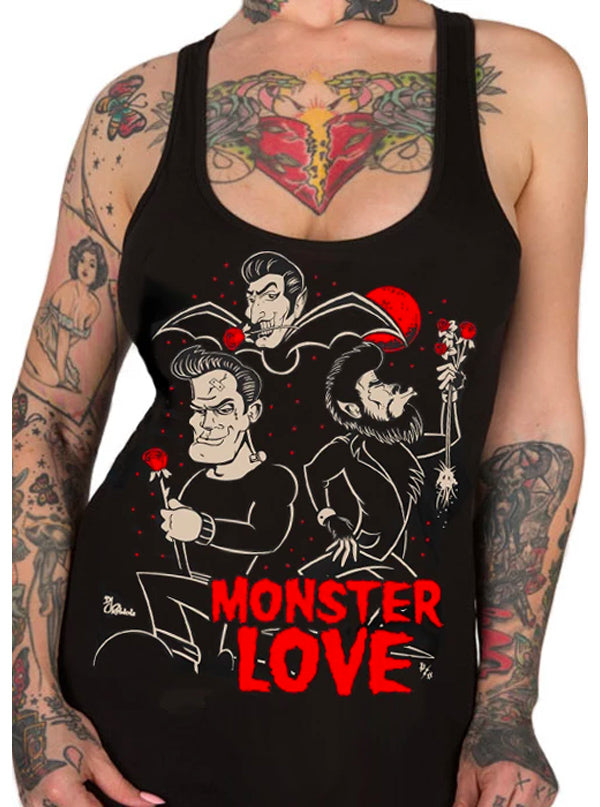 Women's Monster Love Collection by Pinky Star (Black)