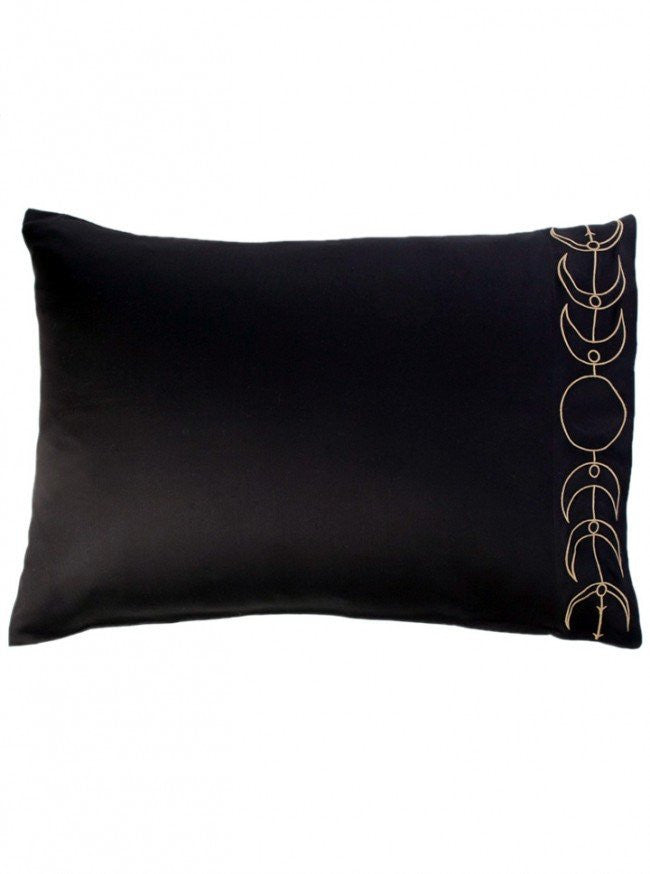 """Moon Phase"" Pillowcases by Sin in Linen - www.inkedshop.com"