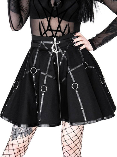 Women's Moon Mistress Harness Skirt by Restyle