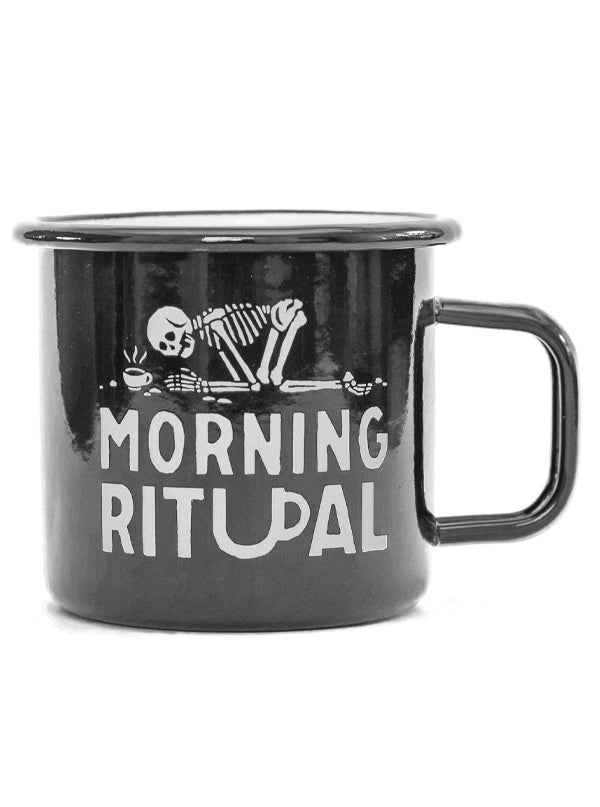 Morning Ritual Coffee Mug by Pyknic