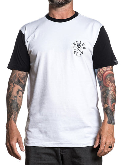 Men's Mortar Tee by Sullen (White/Black)