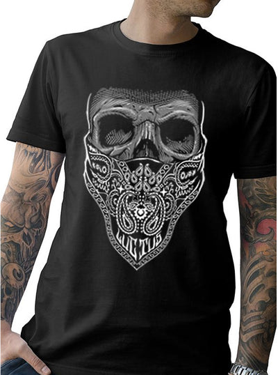"Men's ""Mourning Glory"" Tee by Tat Daddy (Black)"