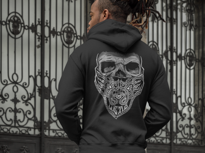 Men's Mourning Glory Hoodie by Tat Daddy