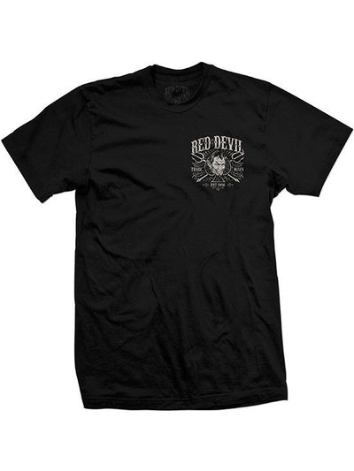 "Men's ""Headed for Hell"" Tee by Red Devil Clothing (Black) - www.inkedshop.com"