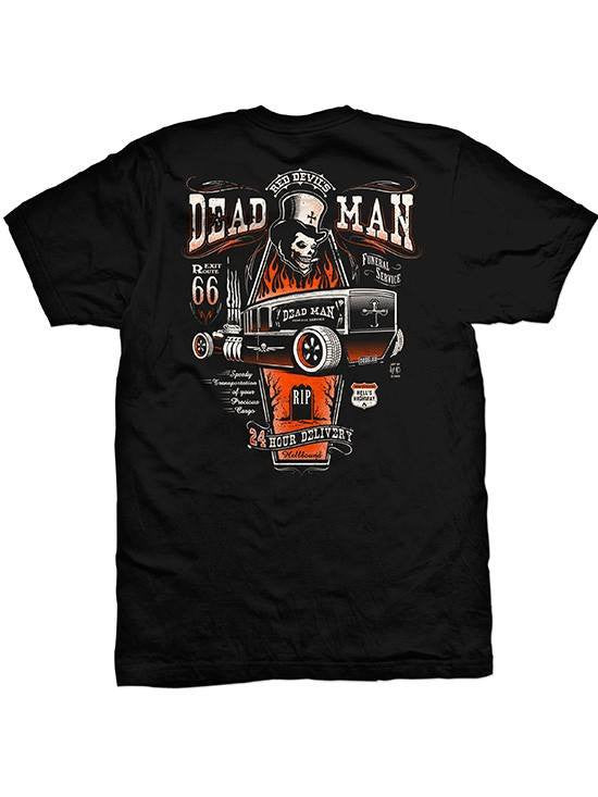"Men's ""Dead Men 2"" Tee by Red Devil Clothing (Black) - www.inkedshop.com"