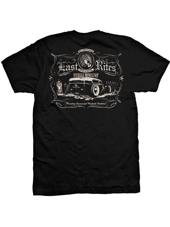 "Men's ""Last Rites 2"" Tee by Red Devil Clothing (Black) - www.inkedshop.com"