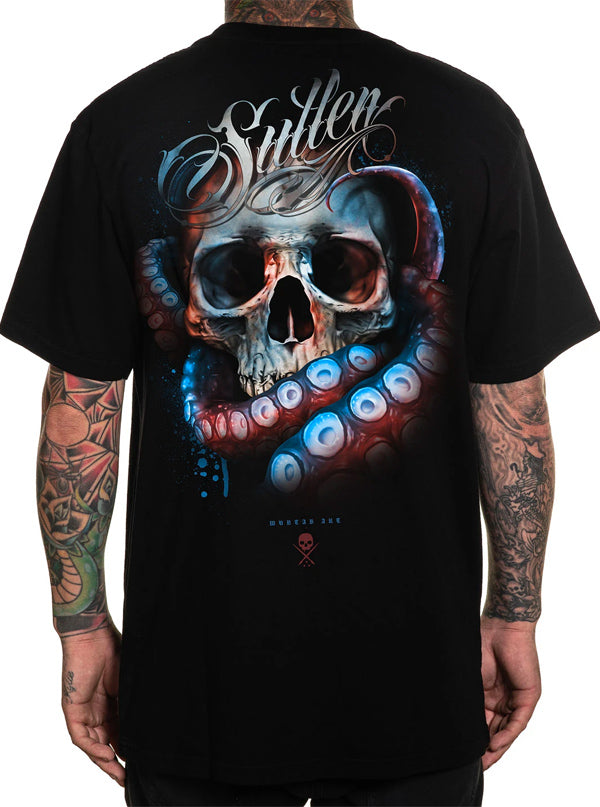 Men's Muntab Skull Tee by Sullen