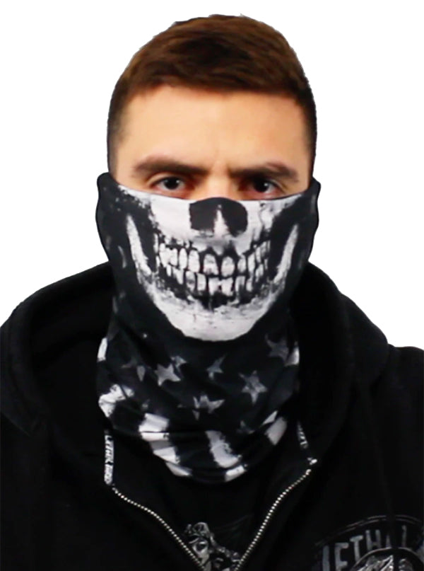 America Skull Face Mask by Lethal Threat