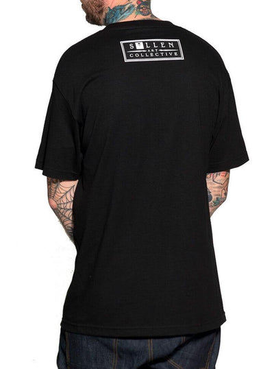 "Men's ""Muse"" Tee by Sullen (Black) - www.inkedshop.com"