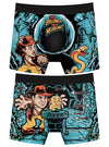 "Men's ""Belong In A Museum"" Boxer Briefs by Harebrained!"