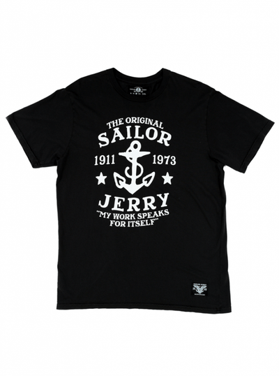 "Men's ""My Work"" Tee by Sailor Jerry (More Options) - www.inkedshop.com"