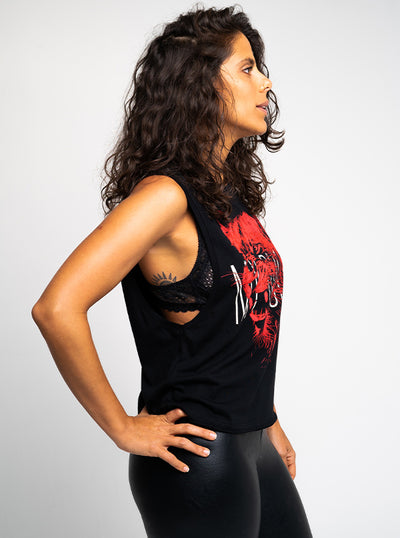 Women's My Rules Muscle Tank by Lawless Apparel