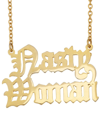 Nasty Woman Necklace by Snash Jewelry