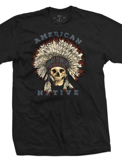 Men's American Native Tee by 7th Revolution