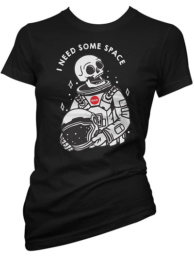 Women's Need Some Space Tee by Cartel Ink