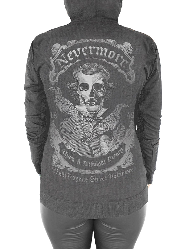 Women's Nevermore Hoodie by Serpentine Clothing