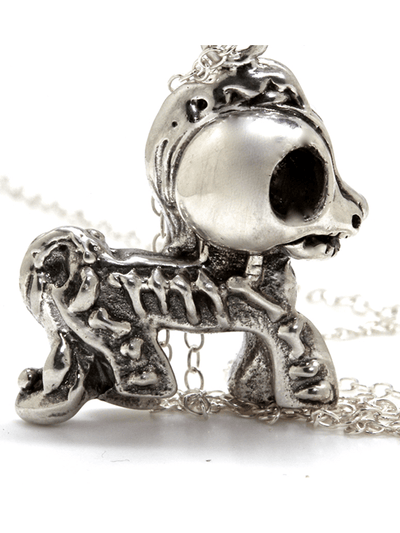 """My Dead Little Pony"" Necklace by Blue Bayer Design - www.inkedshop.com"