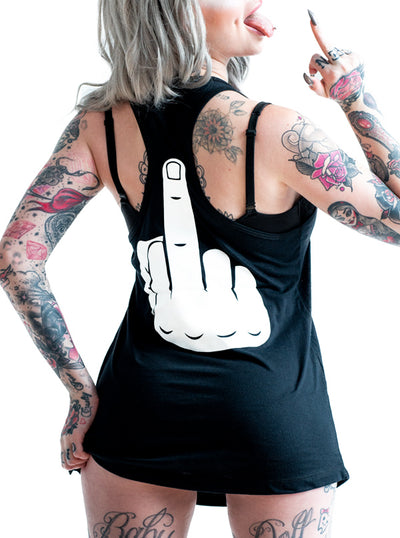 Women's Have a Nice Day Tank by Dirty Shirty