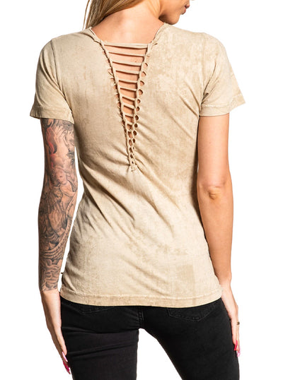 Women's Nicolette Tee by Affliction