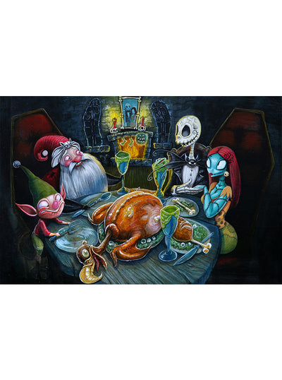 The Next Nightmare Print by Joey Rotten for Lowbrow Art Company