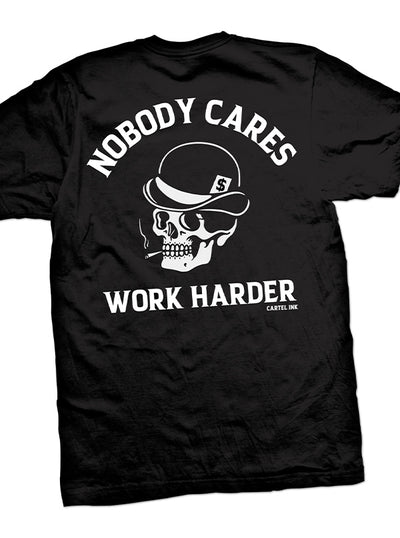 Men's Work Harder Tee by Cartel Ink