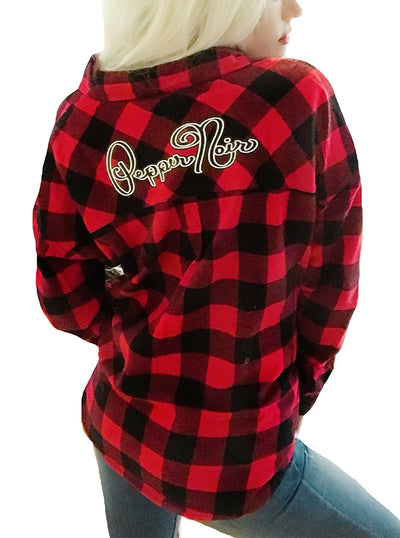 Women's Pepper Noir Flannel by Demi Loon