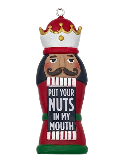 Put Your Nuts In Holiday Ornament