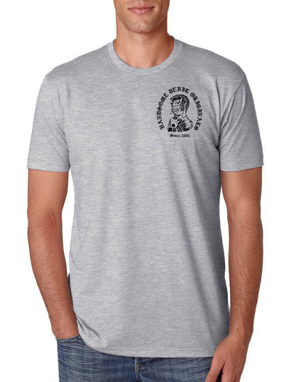 "Men's ""OE Devil"" Tee by Handsome Devil (Grey) - www.inkedshop.com"