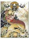 """Of The Sea"" Watercolor Print by Derek Noble for Mindzai Creative - www.inkedshop.com"