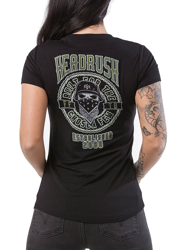 Women's Often V-Neck Tee by Headrush Brand