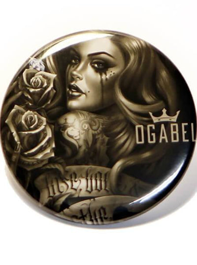 """Diamonds"" Pin by Og Abel - www.inkedshop.com"