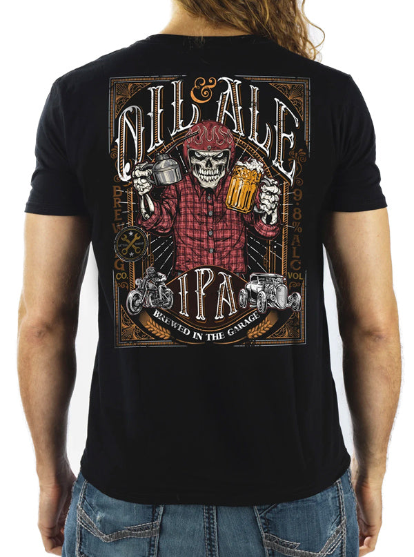 Men's Oil and Ale Tee by Lethal Threat