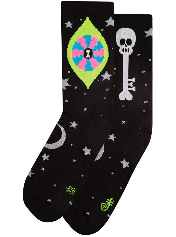 Unisex Oliver's Eye Dress Crew Socks