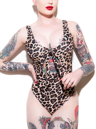 Women's Bombshell One Piece Swimsuit by Pretty Attitude Clothing