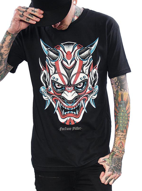 Men's Oni Demon Tee by Fortune Killer