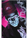 """Oracle"" Print by Mike Bell for Lowbrow Art Company - www.inkedshop.com"