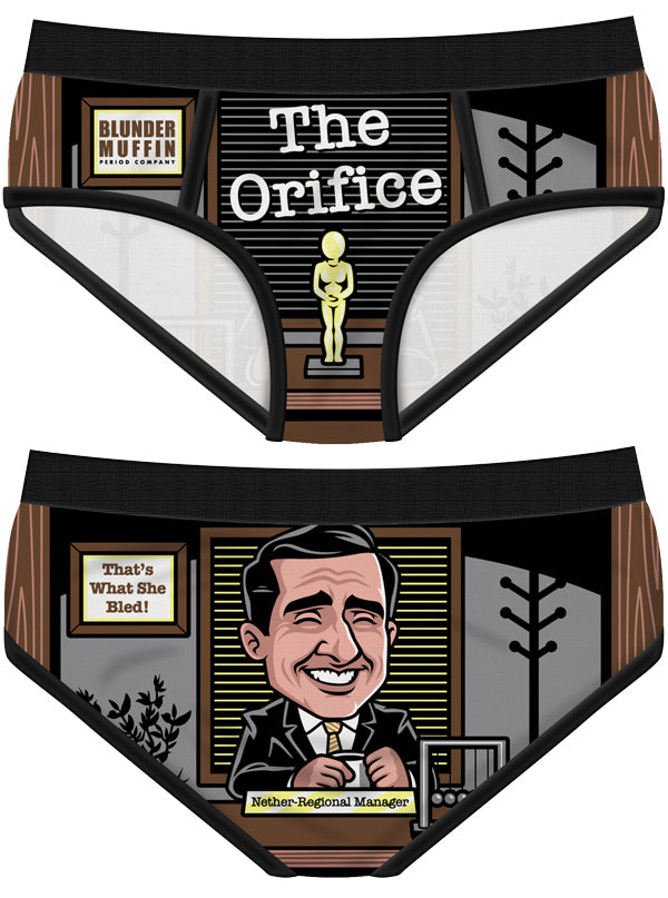 Women's The Orifice Period Panties by Harebrained!