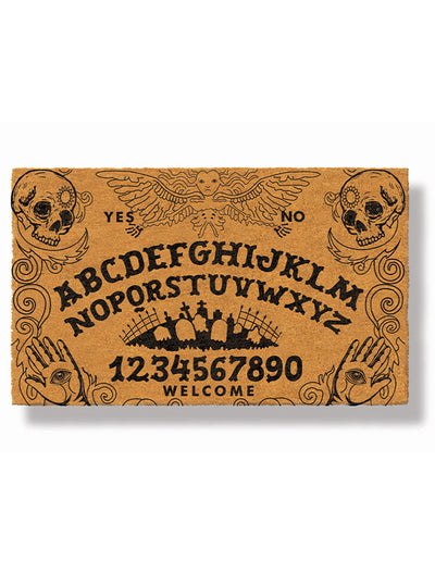 Ouija Board Doormat by Funny Welcome