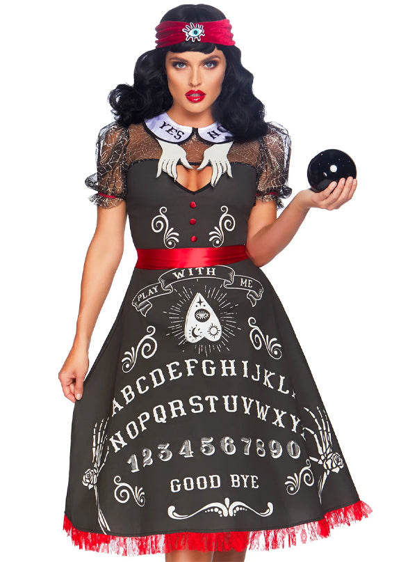 Women's Spooky Board Costume by Leg Avenue (Black)
