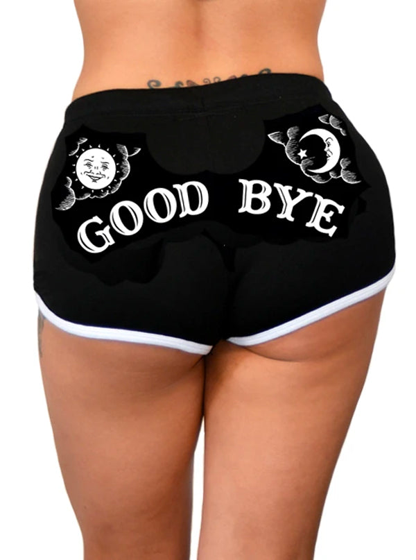 Women's Mystic Good Bye Shorts by Pinky Star