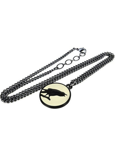 """Caw at the Moon"" Necklace by Alchemy of England - www.inkedshop.com"