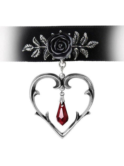 """Wounded Love"" Choker by Alchemy of England - www.inkedshop.com"