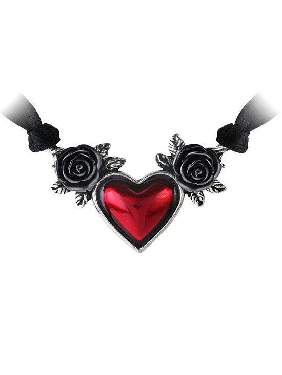 """Blood Heart"" Necklace by Alchemy of England - www.inkedshop.com"