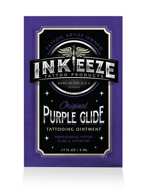 Purple Glide Tattoo Ointment 5ml Packet by INK-EEZE