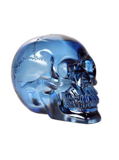 """Translucent"" Skull by Pacific Trading (Blue or Purple) - www.inkedshop.com"