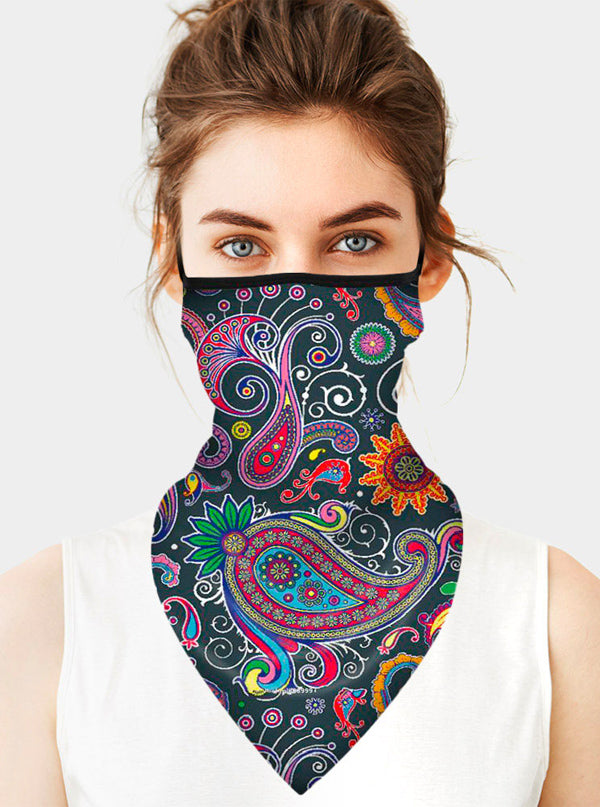 Paisley Face Tube Mask