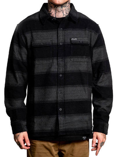 Men's Flannel Jacket by Sullen