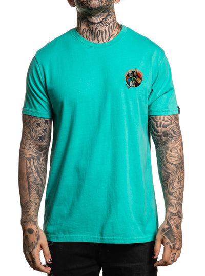 Men's Pandemic Summer Neptune Tee by Sullen