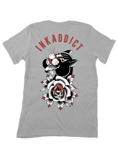 Men's Campbell Panther Tee by InkAddict